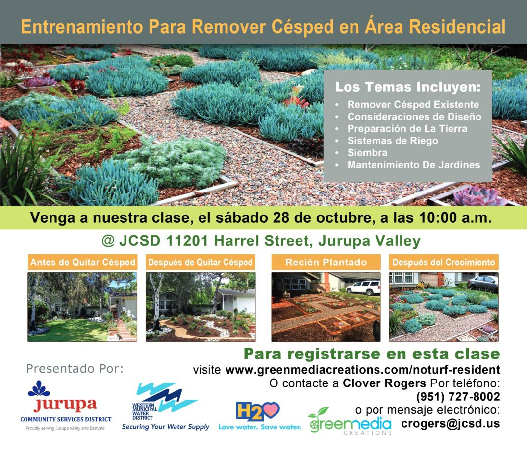 Turf Removal Flier