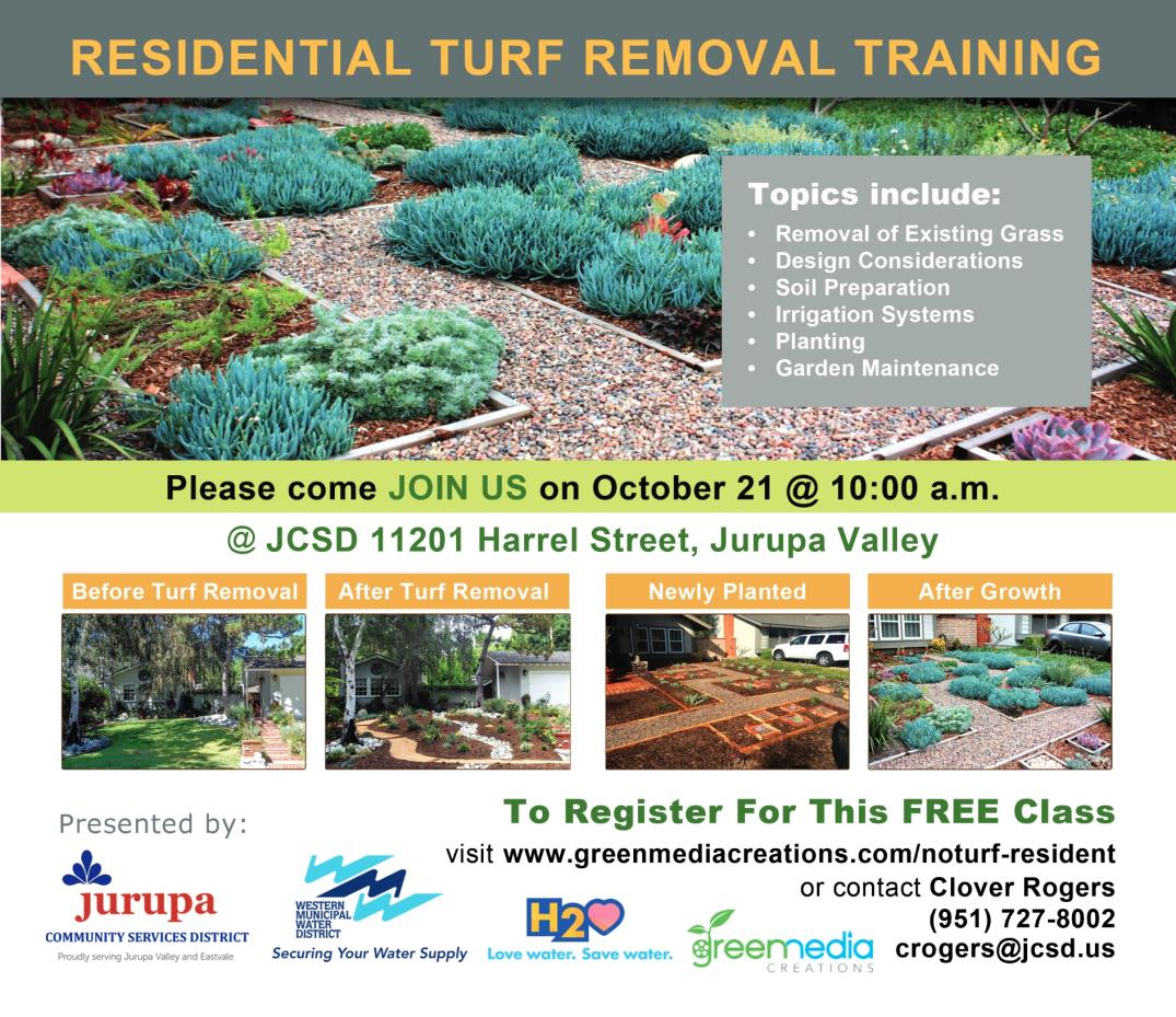 Turf Removal Class