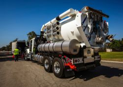 Vactor Truck and Sewer Video Truck